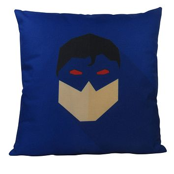 Masked | SuperHero | Vector Art | Fun Gifts | Pillow Cover | Home Decor | Throw Pillows | Happy Birthday | Kids Room Decor | Kids Room