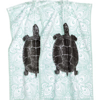 H&M - 2-pack Guest Towels - Turquoise