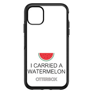 DistinctInk™ OtterBox Symmetry Series Case for Apple iPhone / Samsung Galaxy / Google Pixel - I Carried A Watermelon