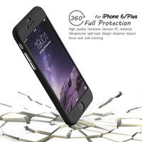 Neo Hybrid Hard PC 360 Degrees Full Protect Case Cover For iPhone 6 6S 6  6S Plus Free Gift Tempered Glass Screen Protector 1520-0849