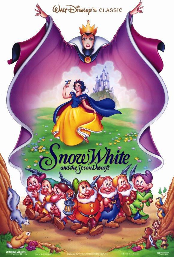 Image of Snow White and the Seven Dwarfs 11x17 Movie Poster (1992)
