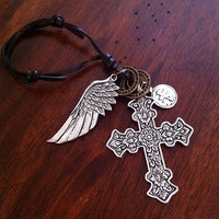 Car Accessories, Rearview Mirror Charm, Keychain, Christian Keychain Raerview Mirror Charm, Military Keychain, Soldier Care Package Gift,