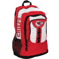Kansas City Chiefs Colossus Backpack - Red/White