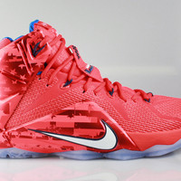 Nike Men's LeBron 12 XII USA 4th of July