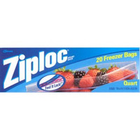 Ziploc Freezer bags Quart, 19 count