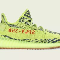 Come With Box ADIDAS YEEZY BOOST 350 V2 SEMI-FROZEN YELLOW B37572 SPLY DEADSTOCK SZ 8.5