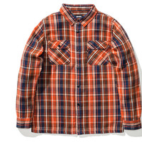 Undefeated Plaid Flannel In Rust