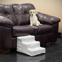 PAW Deluxe Dog Pet Step Stairs with Washable Cover