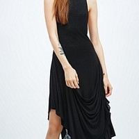 Silence + Noise Syd Drapey Dress in Black - Urban Outfitters