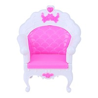 Dolls Accessories Princess Sofa Armchair Girl Toys Sweet Dreamlike Furniture for Barbie Doll Gift Toys For Baby Kids