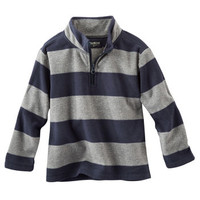 Quarter-Zip B'gosh Fleece Cozie