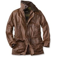 Barbour® Porchester Leather Jacket
