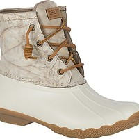 Saltwater Distressed Leather Duck Boot