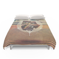 Society6 Bismuth Duvet Cover