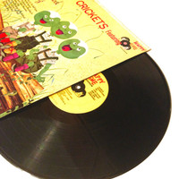 LP Album Happy Crickets Featuring The Chipmunk Song Vinyl Record Childrens Big Rock Candy Mountain