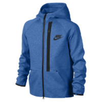 Nike YA76 Tech Fleece Full-Zip Boys' Hoodie
