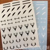 Hunting Nail Decals - Set of 50