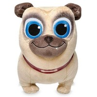 Licensed cool Disney Junior Puppy Dog Pals ROLLY Small Plush Dog Authentic Disney Store 2017