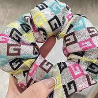 GG Women's Colored G Letter Hair Tie