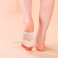 1 pair NEW Arrival 3 Size Female Belly Ballet Toe Pad Feet Protection Dance Socks Soft Unique Top For Woman Girl