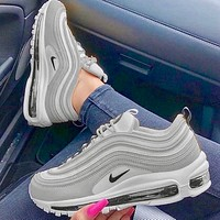 Nike Air Max 97 Classic retro bullet cushioned running shoe
