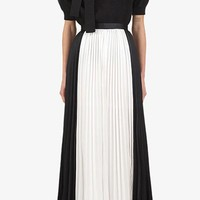 Harlem Renaissance Black White High Waist Pleated Wide Leg Loose Pants - Sold Out