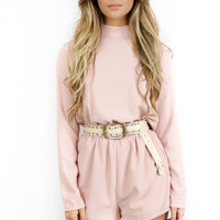 Picture Perfect Light Pink Romper