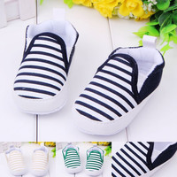 Striped Easy Slip-on Baby Shoes