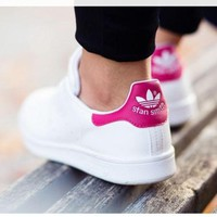 DCCKIJG Unisex Men & Women Casual Sport Print Adidas Stan Smith Shoe Laser
