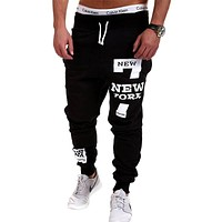 Mens Street Style Joggers Trousers Casual Jogger Sweatpants