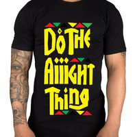 Do The Right Thing 80's Hip Hop T Shirt