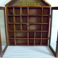 My Collections Antique Display Case