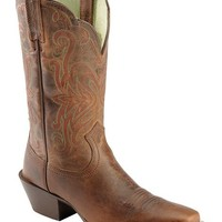 Ariat Sassy Brown Legend Cowgirl Boots - Snip Toe - Sheplers