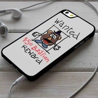 Wanted Toy Story Mr Potato Head iPhone 4/4s 5 5s 5c 6 6plus 7 Case