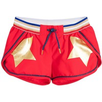 Little Marc Jacobs Girls Candy Red Shorts