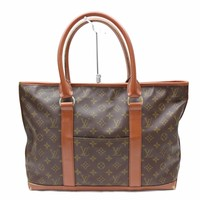 Authentic Louis Vuitton Tote Bag WeekendPM M42425 Browns Monogram 17242