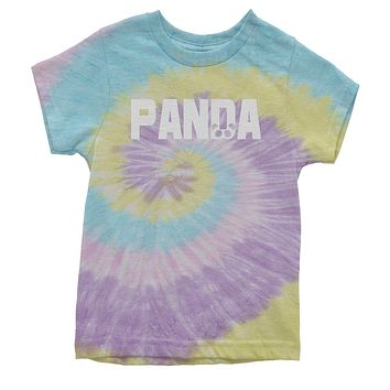 Panda Youth Tie-Dye T-shirt