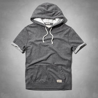 Short Sleeve Crew Pocket Sweatshirt