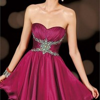 Alyce Paris 3606 - Sweet 16 - Short Prom Dress - Homecoming - 3606