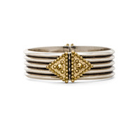 House of Harlow Central Highlands Cuff in Silver & Gold