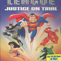 Justice League-Justice On Trial (Dvd)