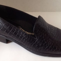Easy Spirit Loafers Womens Size 8 M 2A Narrow Heel Black Shoes 8M Arch