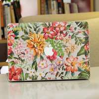 Macbook Pro Decal Top stickers Front Decal stickers Laptop Mac Pro retina 13 Top stickers Flower Apple Mac Air stickers Cover Protector