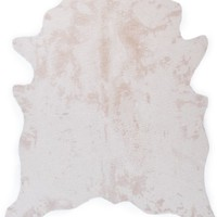 Ayi Faux Cowhide Rug - Ivory | West Street Relaxed Bedroom Inspiration | Bedroom Inspiration | Inspiration | Z Gallerie
