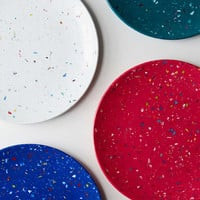 Zak Rainbow Confetti Salad Plate | Urban Outfitters