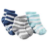 3-Pack Chenille Booties