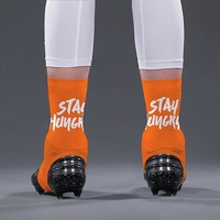 Stay Hungry Orange Spats / Cleat Covers