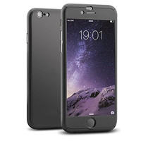 Hybrid 360 Degrees Nanoskin Full Body Case Cover for iPhone 7 6 6S Plus iPhone6 fundas coque+Tempered Glass Screen Protector