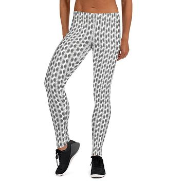 Pointellex Print Leggings