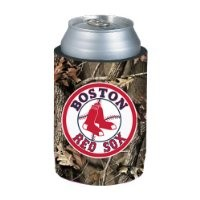 Boston Red Sox MLB Team Logo Sports Drink Beer Water Soda Beverage Can Insulated Picnic Outdoor Party Beach BBQ Kooler Camouflage Can Cooler - 12oz Camo Can Koozie